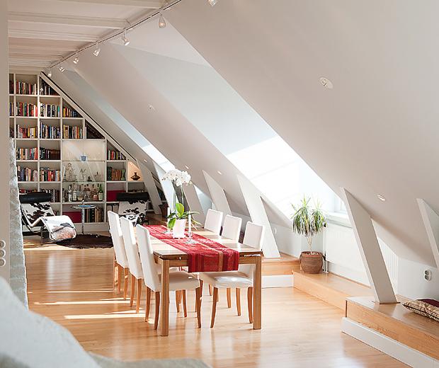 decoracao de interiores sotaos:Décor do dia: quando o sótão vira casa – Casa Vogue