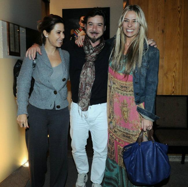 Guilhermina Guinle, Alexandre Iódice e Adriane Galisteu (Foto: Francisco Cepeda/AgNews)