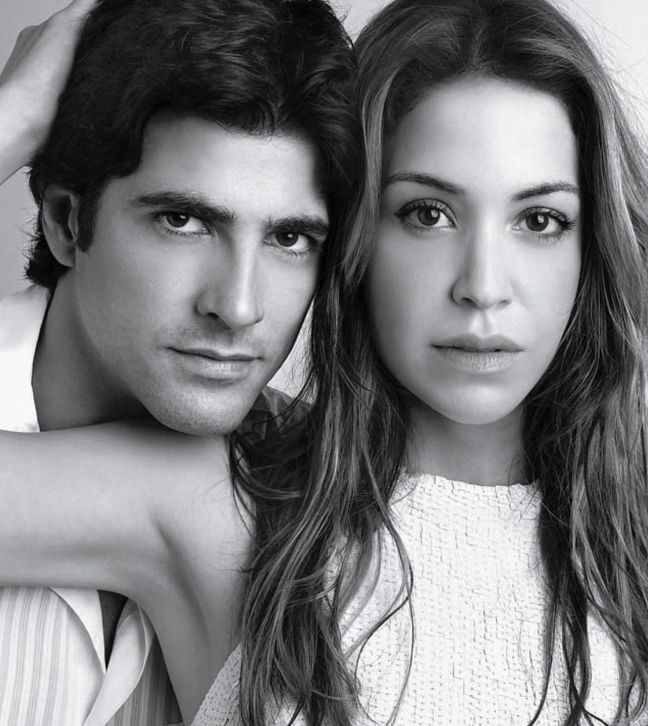 Reynaldo Gianecchini e Julia Almeida (Foto: Fernando Torquatto)