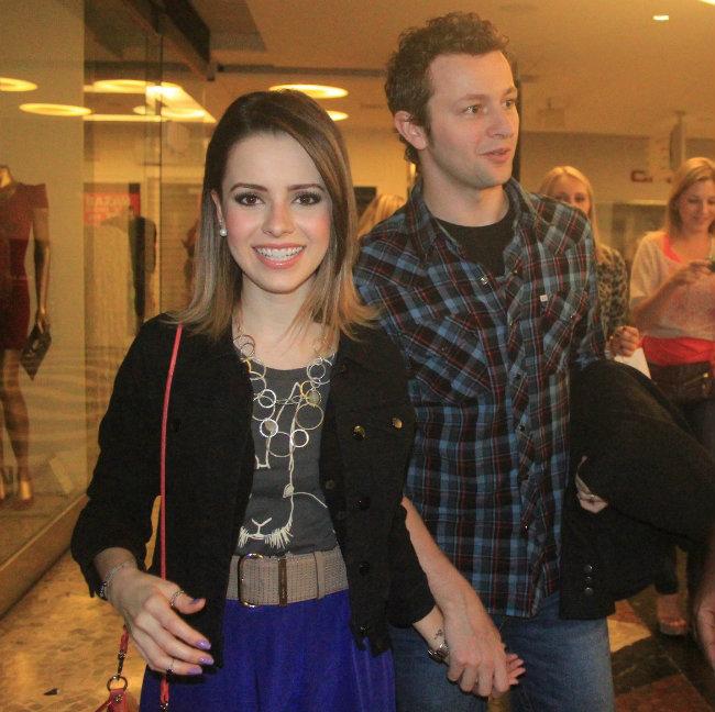 Sandy e o marido, Lucas Lima (Foto: Rodrigo dos Anjos/AgNews)