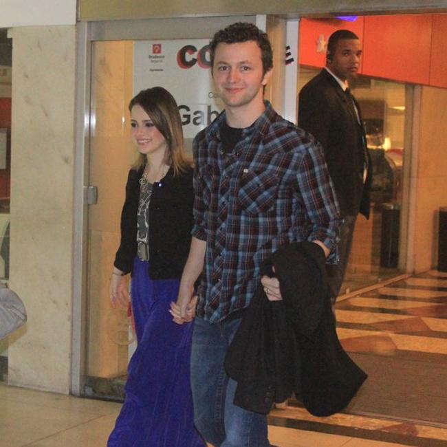 Sandy e o marido, Lucas Limas (Foto: Rodrigo dos Anjos/AgNews)