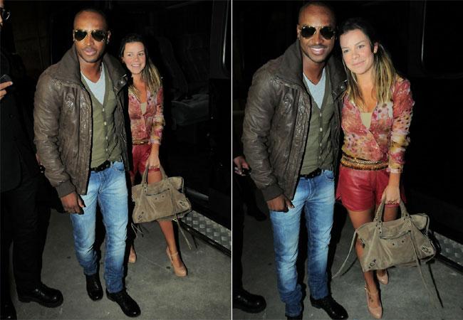 Thiaguinho Barbosa e Fernanda Souza (Foto: Revista QUEM)