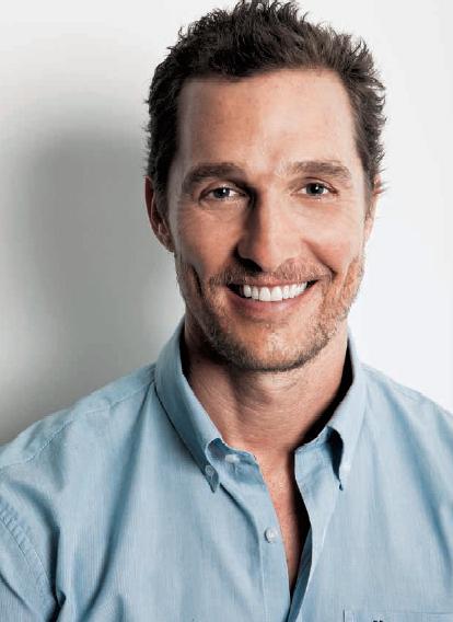 Mathew McConaughey (Foto: Lufe Gomes / Ed. Globo)