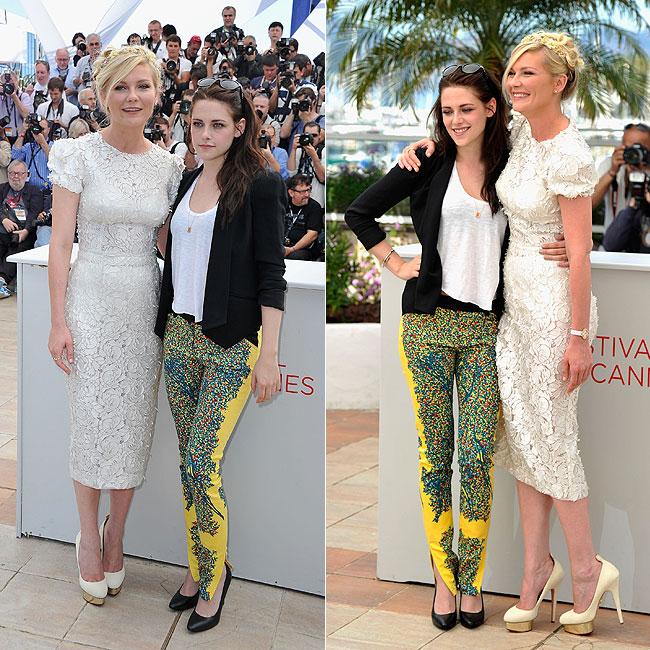 Kristen Stewart e Kirsten Dunst (Foto: Getty Images)