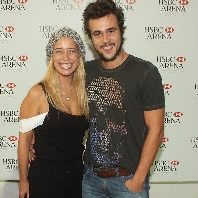 Paloma Duarte e Bruno Ferrari (Foto: Fábio Martins/AgNews)