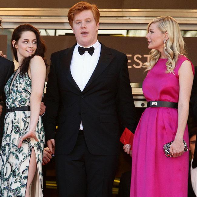 Kristen Stewart, Danny Morgan e Kirsten Dunst (Foto: Getty Images)