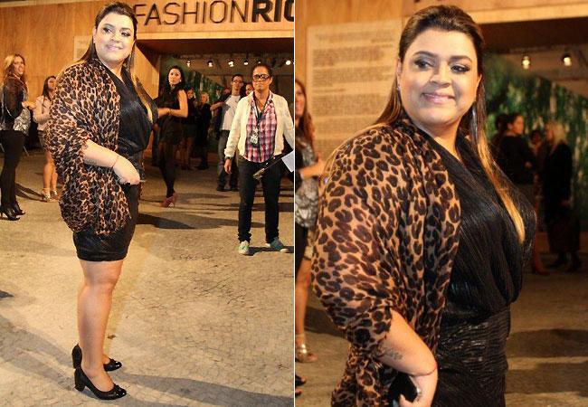Preta Gil (Foto: Anderson Borde e Alex Palarea/AgNews)