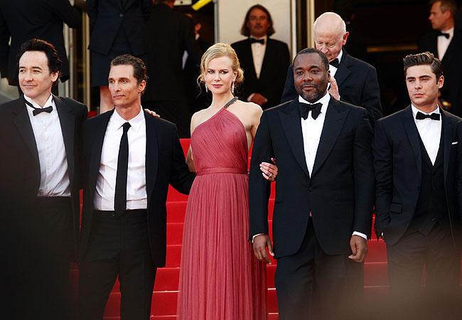 John Cusack, Matthew McConaughey, o diretor Lee Daniels, Nicole Kidman e Zac Efron (Foto: Getty Images)