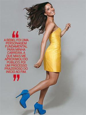 Vestido Versace, ankle boots Studio TMLS e joias H.Stern  (Foto: Fernando Torquatto)