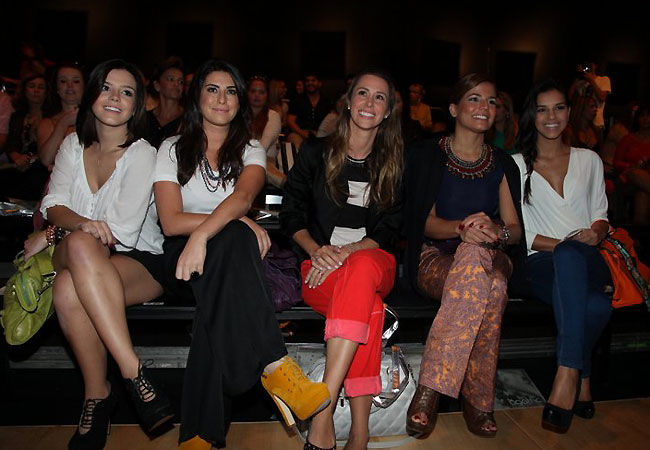 Giovanna Lancellotti, Fernanda Paes Leme, Dani Monteiro, Nivea Stelmann e Mariana Rios (Foto: Cláudio Andrade/Revista QUEM)