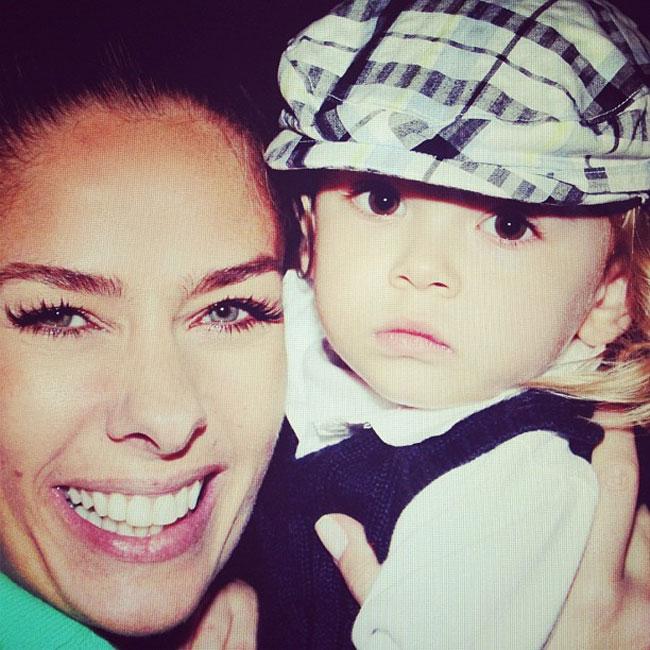 Adriane Galisteu e o pequeno Vittorio (Foto: Reprodução/Instagram)