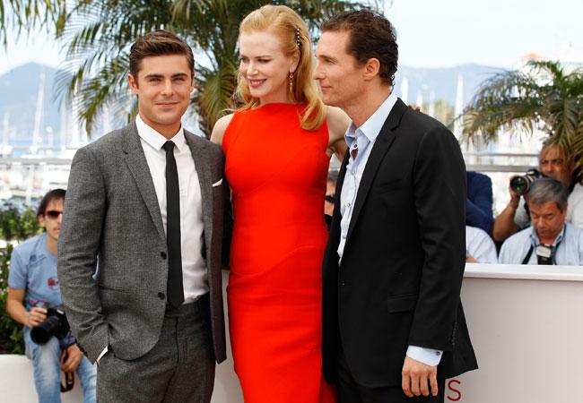 Zac Efron, Nicole Kidman e Matthew McConaughey (Foto: Getty Images)