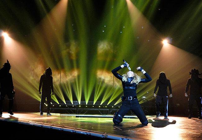 Madonna publicou fotos dos ensaios de sua nova turnê (Foto: Divulgação)