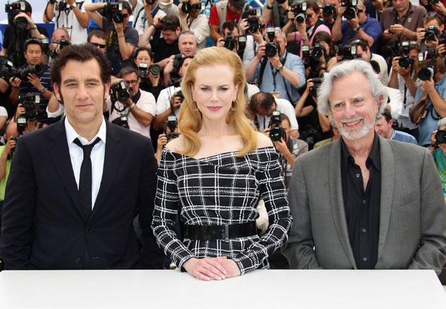Clive Owen, Nicole Kidman e Philip Kaufman (Foto: Getty Images)