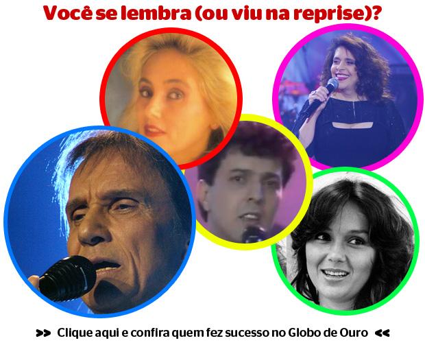 GLOBO DE OURO Faça o teste e confira quem fez sucesso no Globo de Ouro (Foto: divulgação)