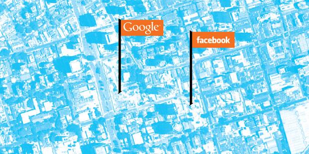 Google e Facebook (Foto: Shutterstock)