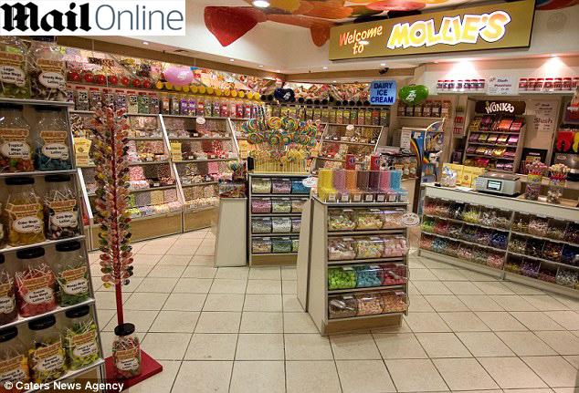 A loja de doces