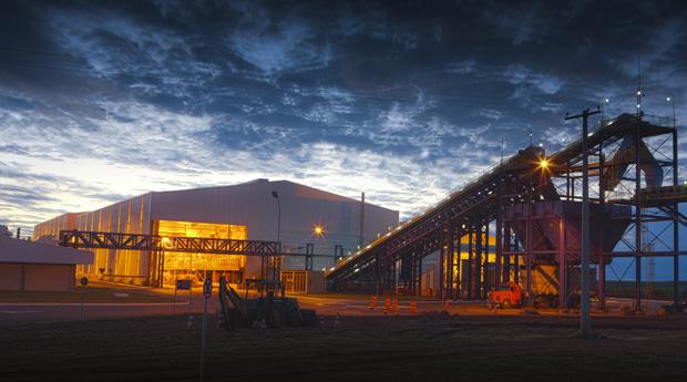 Instalações da nova fábrica em Itápolis (Foto: Divulgação / Syngenta)
