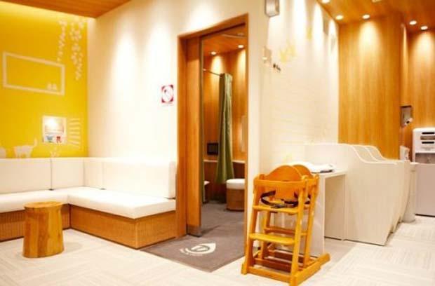 Banheiro mamães - Shibuya Hikarie (Foto: Reprodução)