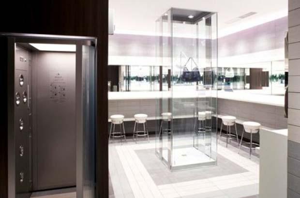 Banheiro ducha - Shibuya Hikarie (Foto: Reprodução)
