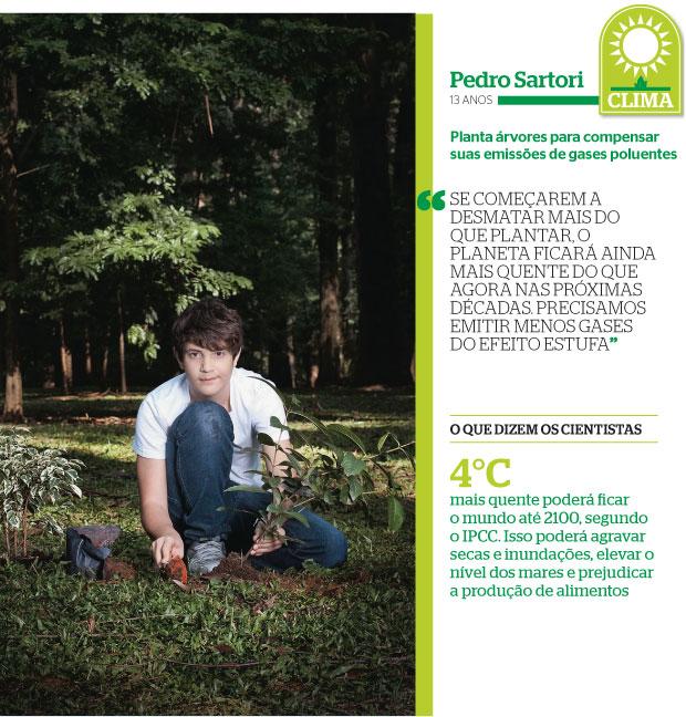 Pedro Sartori (Foto: Camila Fontana/ÉPOCA)