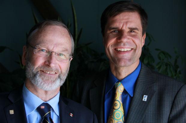 William Rees e Mathis Wackernagel (Foto: Divulgação)