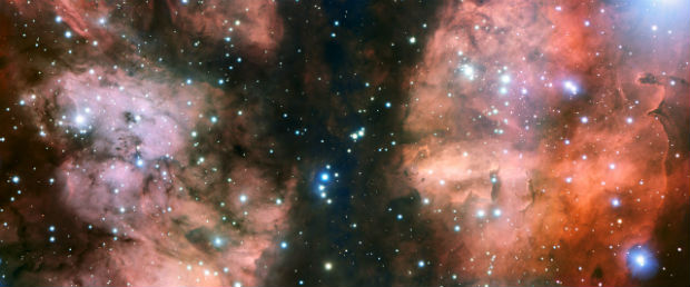 nebulosa guerra e paz (Foto: ESO/Divulgação)
