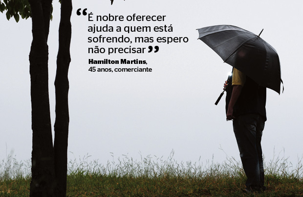 Hamilton Martins, 45 anos, comerciante (Foto: Cristiano Borges/ÉPOCA)