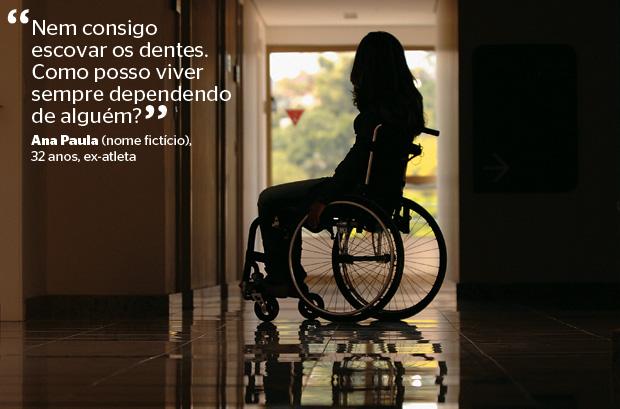 Ana Paula (nome fictício), 32 anos, ex-atleta (Foto: Mirian Fichtner/ÉPOCA)