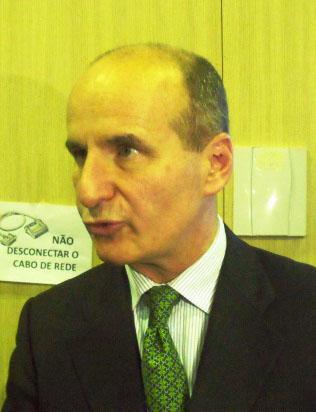 José Maria Figueres, presidente da Carbon War Room (Foto: Clarice Couto)