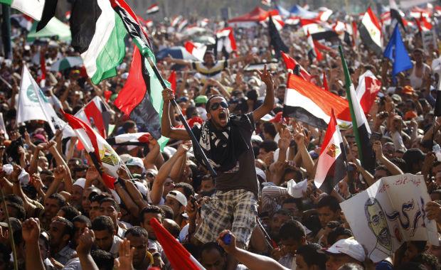 egito (Foto: Khalil Hamra/AP)