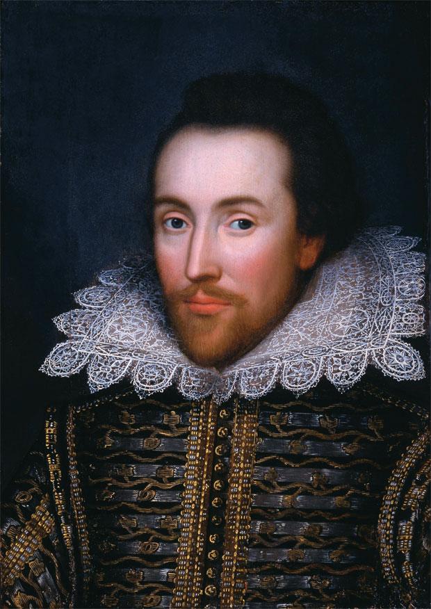 É ELE? O retrato que ficou séculos com uma família irlandesa pode ser a única imagem de Shakespeare pintada durante sua vida  (Foto: Corbis)