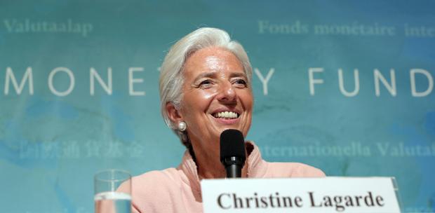 Christine Lagarde (Foto: Itsuo Inouye/AP)