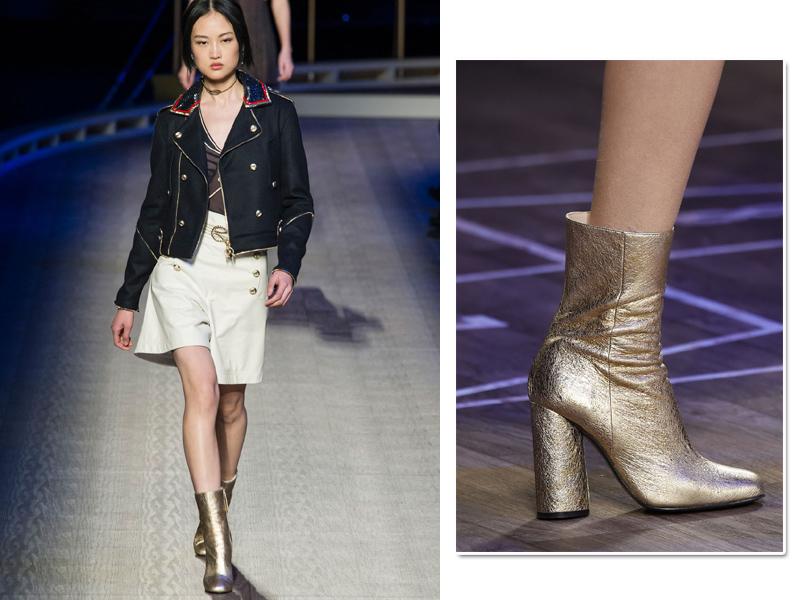 Tommy Hilfiger combinou o calçado da vez com peças básicas para dar um upgrade na produção