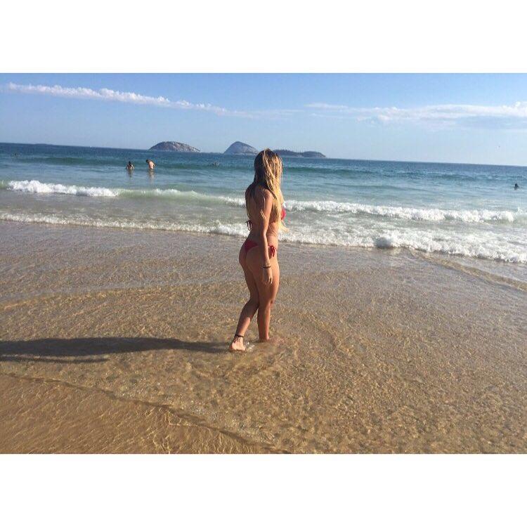 Carol Portaluppi em foto no Instagram
