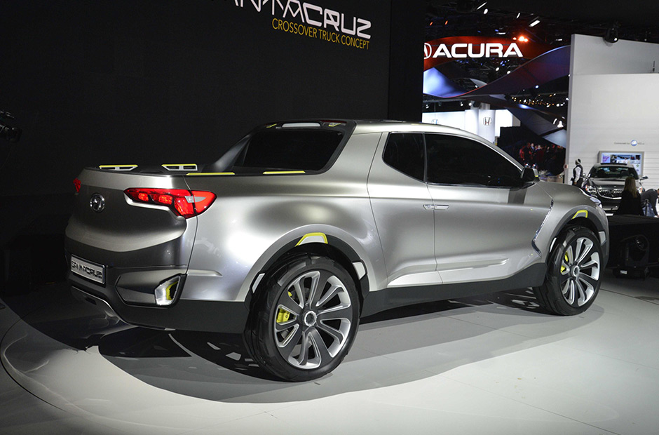 Picape Hyundai Santa Cruz Esta Prestes A Ser Produzida Auto