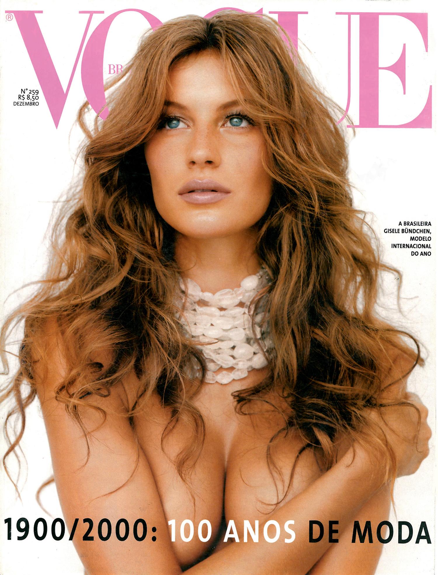 941001b79cd44 40 anos de Vogue Brasil  relembre as capas mais surpreendentes da revista -  Vogue