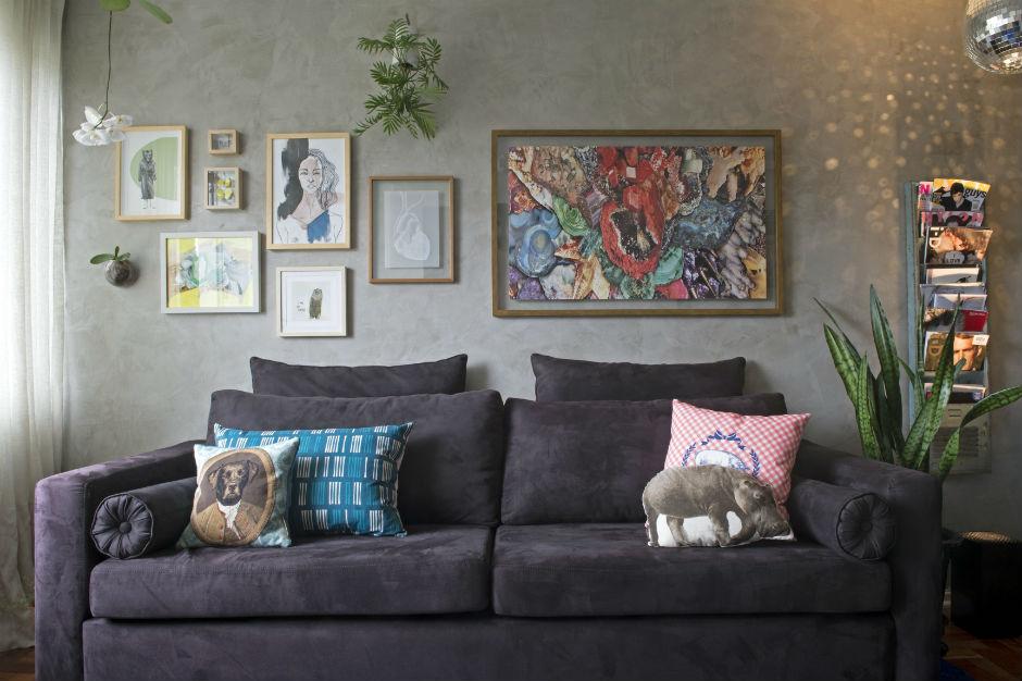 13 ideias de composição de quadros na parede