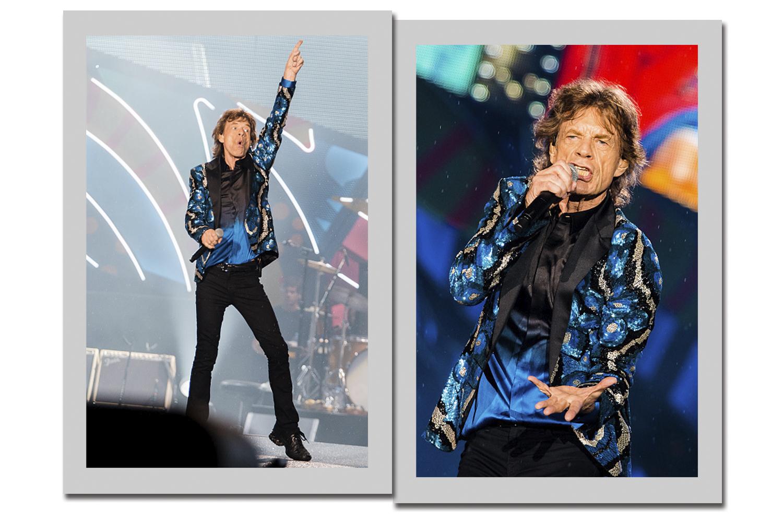 bc5fc9561a2ad Rolling Stones fazem show em São Paulo com várias trocas de looks ...