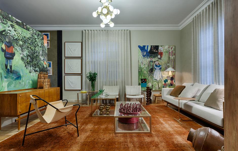 Como misturar elementos vintage e contempor neos na for Apartamentos interiores contemporaneos