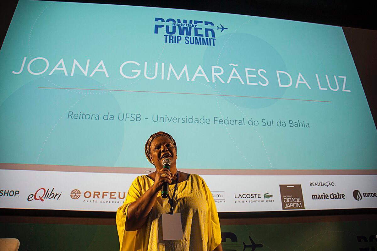 Joana Guimarães da Luz, reitora da Universidade Federal do Sul da Bahia