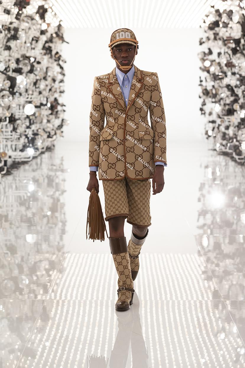 Gucci + Balenciaga: entenda por que a coleção não é chamada de parceria e  confira todos os detalhes - Vogue   moda